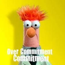 overcommited