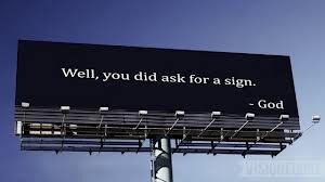 God signs