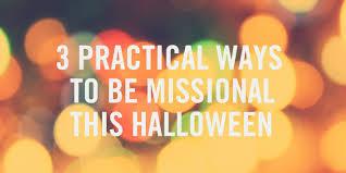 missional halloween